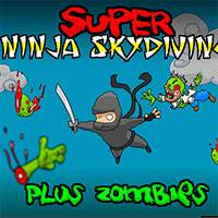 Супер Ниндзя Прыжки c парашютом (Super Ninja Skydiving)