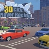Гонки на два игрока в 3Д городе (3D City: 2 Player Racing)