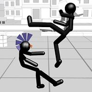 Стикмен: Драки 3Д (Stickman Fighting 3D)