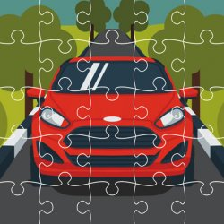 Автомобили Форд: Пазл (Ford Cars Jigsaw)